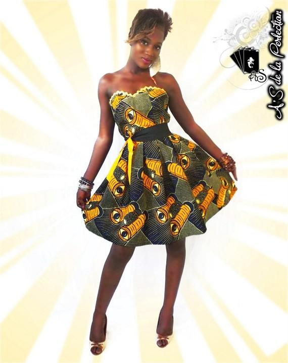 Modele de robe bustier wax
